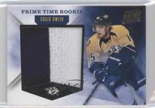 2011 Panini Prime Time Rookie Materials #8 Craig Smith Nashville Predators Card
