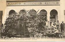 CPA CASABLANCA EXPOSITION FRANCO MAROCAINE LA GROTTE