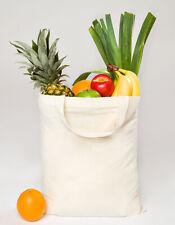 Baumwolltasche Tragetasche Einkaufstasche kurze Henkel