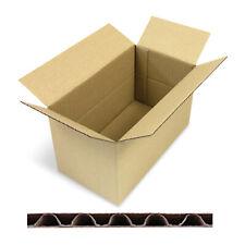 150x cartone scatola pacchetto spedizione imballaggio 1-ondulata 350x240x150mm