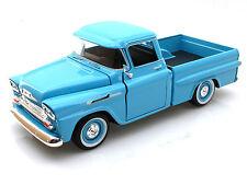 Chevy Apache pick up 1958 fleetside azul claro