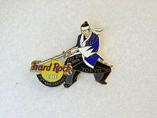 TOKYO,Hard Rock Cafe Pin,21st Anniversary Samurai