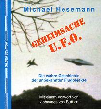 GEHEIMSACHE UFO - Bildband & Buch mit Michael Hesemann - über 1 kg !