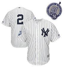 2017 Majestic New York Yankees Derek Jeter AUTHENTIC Jersey Retirement Patch