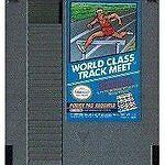 WORLD CLASS TRACK MEET --- NES Nintendo