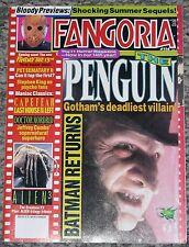 FANGORIA #114 July 1992 Batman Returns Alien 3 Stephen King Friday 13th Jason