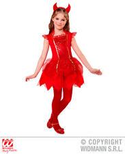 Boys Devil Costume Satan Lucifer Demon Antichrist Halloween Fancy Dress Outfit