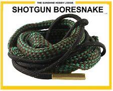 Bore Snake Shotgun Barrel Cleaner Boresnake For 12 16 20 410 Bore Gauge NEW UK