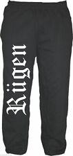 Rügen pantalones deportivos-m hasta XXL-negro-jogger pantalones Mar Báltico Pomerania Occidental vacaciones