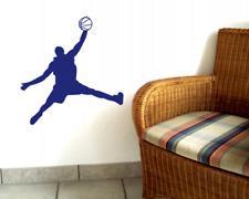 Wandtattoo Basketball Spieler Wanddekor 25 Farben 8 Größen Wandaufkleber Sticker