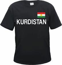 Kurdistan T-Shirt mit Aufdruck Text und Flagge - Kurdistane Kobane Kurden
