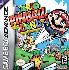 Mario Pinball Land (Nintendo Game Boy Advance, 2004) GAME ONLY NICE NES HQ