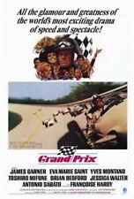 66133 Grand Prix Movie James Garner, Eva Marie Saint Wall Print Poster CA