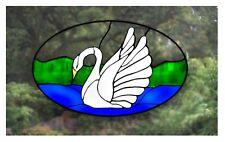 Cisne vidrieras Efecto Ventana se aferran