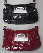GUESS Firework G Embossed Rhinestone Logo World Mini Bag Purse Handbag Sac New