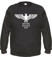 Imperial Eagle Sweatshirt/Hoodie - Black - S to 3XL Iron Cross Iron Cross