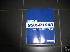 WERKSTATTHANDBUCH REPARATUR ANLEITUNG Suzuki GSX-R1000 K5 K6 original deutsch