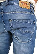 DIESEL Jeans | Krooley ( Regular-Slim-Carrot )  classic blue treated 100% Bw