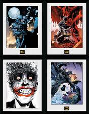 Batman Framed Print Poster Comic Art Joker Harley Quinn Penguin Arkham 30x40cm
