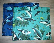 Dolphins Orcas Sea Turtles Fish Seaweed Ocean Microwave Baked Potato Corn Bag