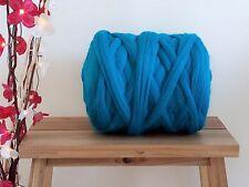 Turquoise* 100% Merino Wool Giant Yarn Extreme Arm Knitting, 100g - 1kg
