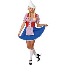 Holländerin Damen Karneval Kostüm Frau Antje Kleid Niederländerin Hollandkleid
