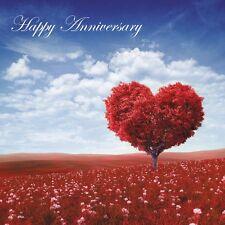 Ruby 40th Wedding Anniversary Card - Red Themed Designs - Fast Dispatch/Freepost