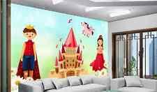 3D Prince Princess 187 Wall Paper Wall Print Decal Wall Deco AJ US Carly