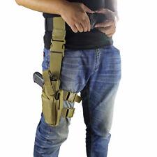 Tactical Universal Leg Holster Right Handed Thigh Pistol Gun Holster Adjustable