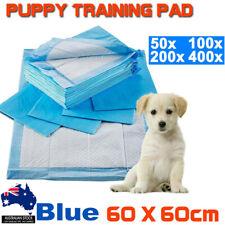 50X to 400X Pet Toilet Training Pads Puppy Dog Cat Indoor 60x60cm Super Absorben