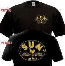 T-SHIRT SUN Memphis Tennessee Rock'n'Roll Rockabilly 1952 50's Johnny Cash Elvis