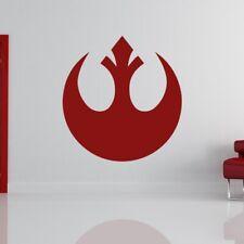 Guerra de las galaxias con el logotipo de Alianza Rebelde Pared Arte Pegatina (AS10188)