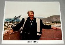 Don King Boxing Promoter Signed Boxing Photo