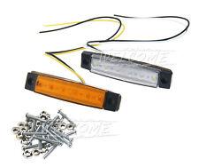 Car Truck Trailer Side Marker Indicators Light Lamp LED 12V Replacement