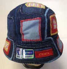 NFL Kansas City Chiefs Women's Reebok Bucket Fishing Cap Hat NEW!