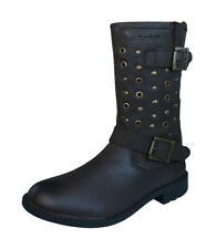 Hush Puppies Lizzie Filles Bottes en cuir / Chaussures - marron