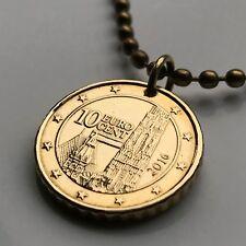 Austria 10 euro cent coin pendant Vienna Gothic architecture Stephansdom n002017