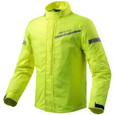 REV'IT! CYCLONE 2 H2O Motorrad Regenjacke - neon gelb