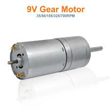 35/86/185/325/700RPM DC 9V High Torque Gear Box Micro Electric Motor for car