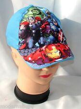 blu Avengers cappello con visiera Estivo Bambino Baseball tg unica 52-54 cotone