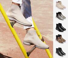 NEW Cole Haan Women's 3.ZEROGRAND Waterproof Slip On Suede Chelsea Boots
