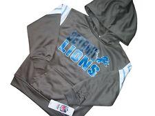New Youth Boy NFL Detroit Lions Pullover Hooded Sweatshirt Hoodie Jumper