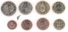 San Marino alle 8 Münzen 1 Cent - 2 Euro Kursmünzenset KMS alle Jahre wählen