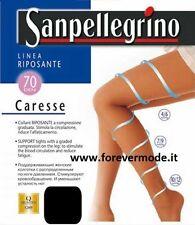 2 Collant donna Sanpellegrino riposanti a compressione graduata art Caresse 70
