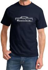 1957 1958 Mercury Montclair Hardtop Classic Car Design Tshirt NEW