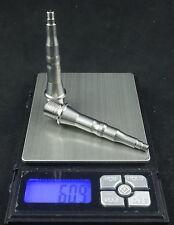 J&L Titanium/Ti Pedal Spindle fit SpeedPlay X5 Gray(Not Blue)-Save 62g