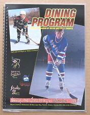 Wayne Gretzky's 99 Dining Program - Toronto Restaurant