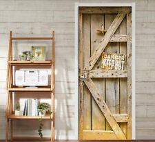 3D Wooden Gate 226 Door Wall Mural Photo Wall Sticker Decal Wall AJ WALLPAPER UK