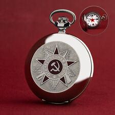 POCKET WATCH MOLNIJA 3602 - Order Des 2. Weltkrieges - II WK - Russian Watch
