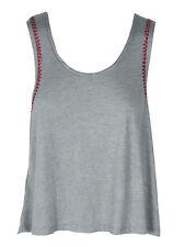 Minkpink Such A gem Grey Pink Low Back Summer Tank Vest Top